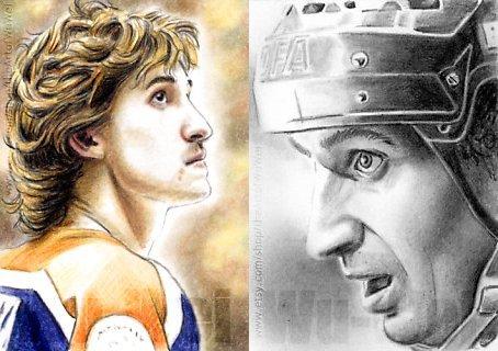 Wayne Gretzky par wu-wei